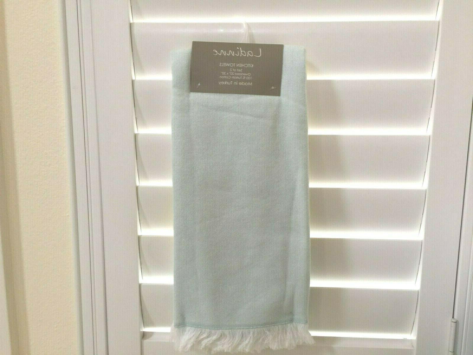LADINNE Made in Turkey KITCHEN TOWELS 2 100%