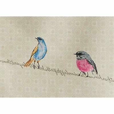 Maison D&39 Birdies On Set 2 Towels, 20 - By