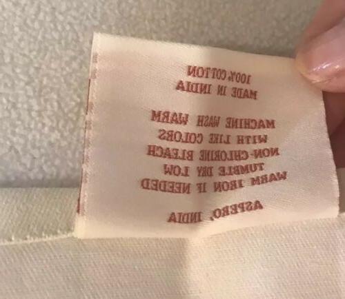 """Maison d' Hermine 100% Cotton 2 Kitchen Towels, 20""""x29""""NEW"""