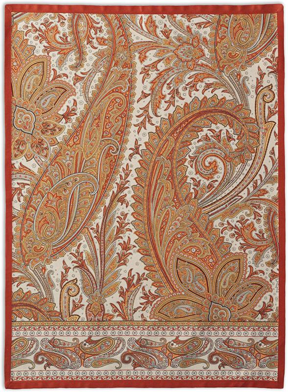 Maison d' Hermine Kashmir Paisley 100% Cotton Set of 2 Kitch