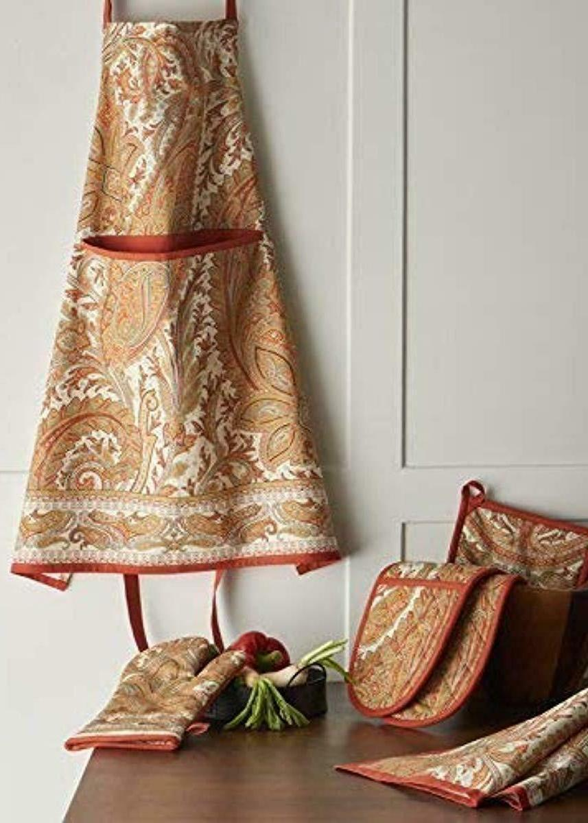 Paisley 100% Cotton Set of Kitchen 20 Inch by