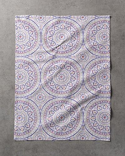 Maison 100% Cotton Set of 3 Towels 20 Inch by 27.5