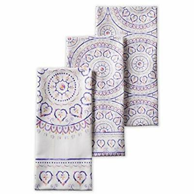 mandala cotton kitchen towels inch