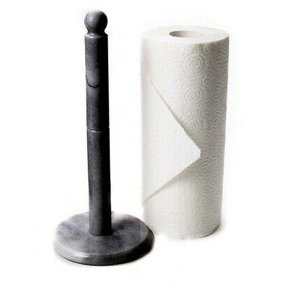 Fox Run Marble Paper Towel in Black