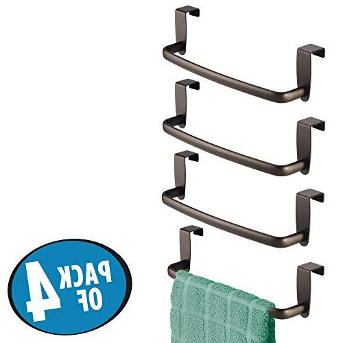 mDesign Metal Bar Outside Hand, Towels - Wide,