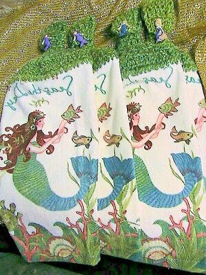 mermaids 2 crochet top bath hand towels