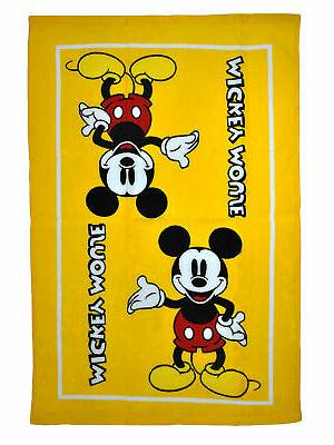 Mickey Mouse Towels