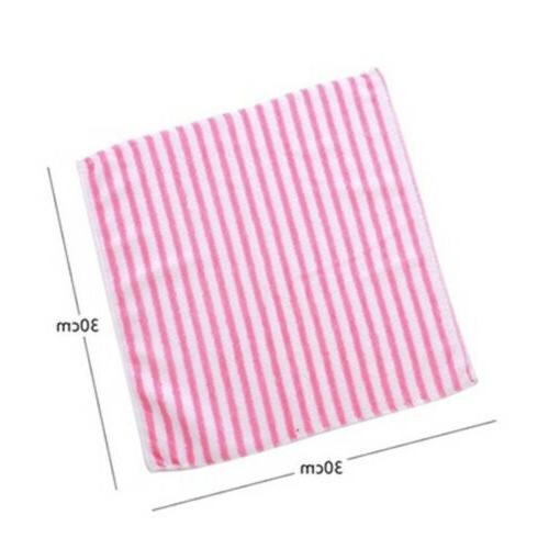 Microfiber Dishcloth Washing Towel Cloth Rags Wipe