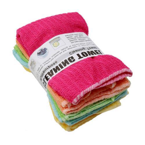 Microfiber Dishcloth Square Washing Towel Dish Cloth