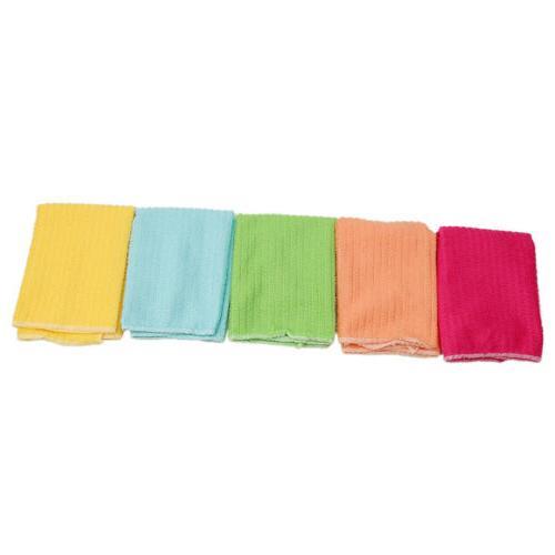 Microfiber Dishcloth Square Washing Cleaning Towel Dish Cloth Wipe