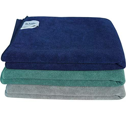 Gryeer Microfiber Towels and Towels, Inch, Pack of