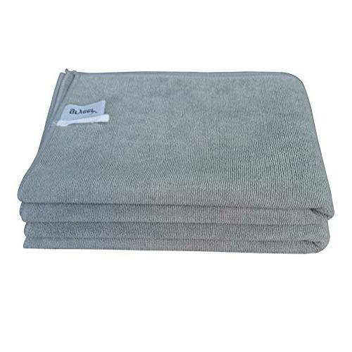 - Absorbent, Soft and Lint Towels, 26x18 Inch, Pack of Gray