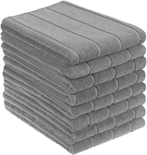 Gryeer Microfiber Kitchen Towels, Super Absorbent, Extra Lar