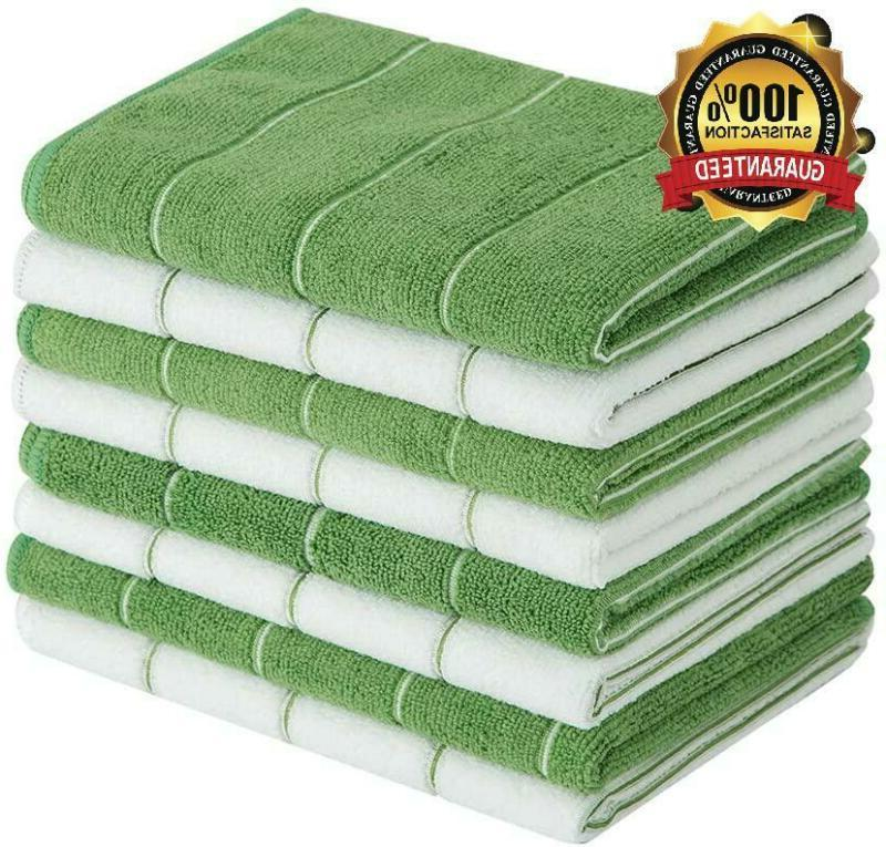 Microfiber Kitchen Towels - Super Absorbent, Soft And Solid