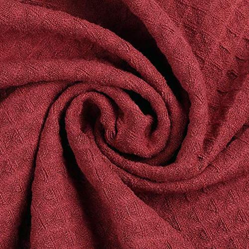 Lifaith Microfiber Thick Weave Kitchen Towels Dish Cloth 3 X