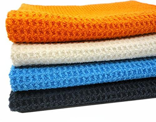 KLEIESH Kitchen Towels Pack