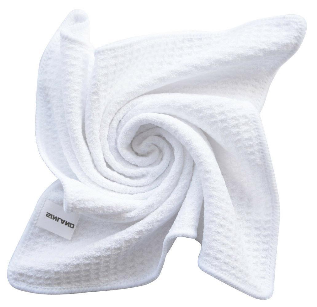 Microfiber Kitchen Dish Towels Waffle Weave Towel Absorbent