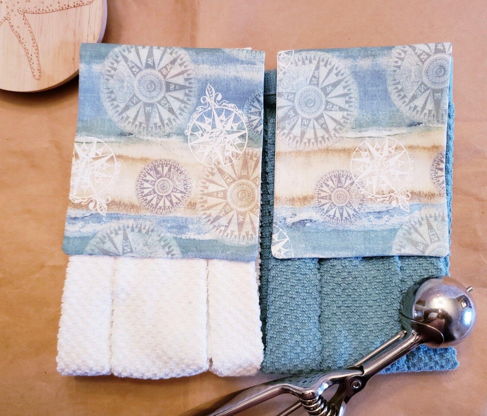 nautical kitchen and bath decor hanging towels