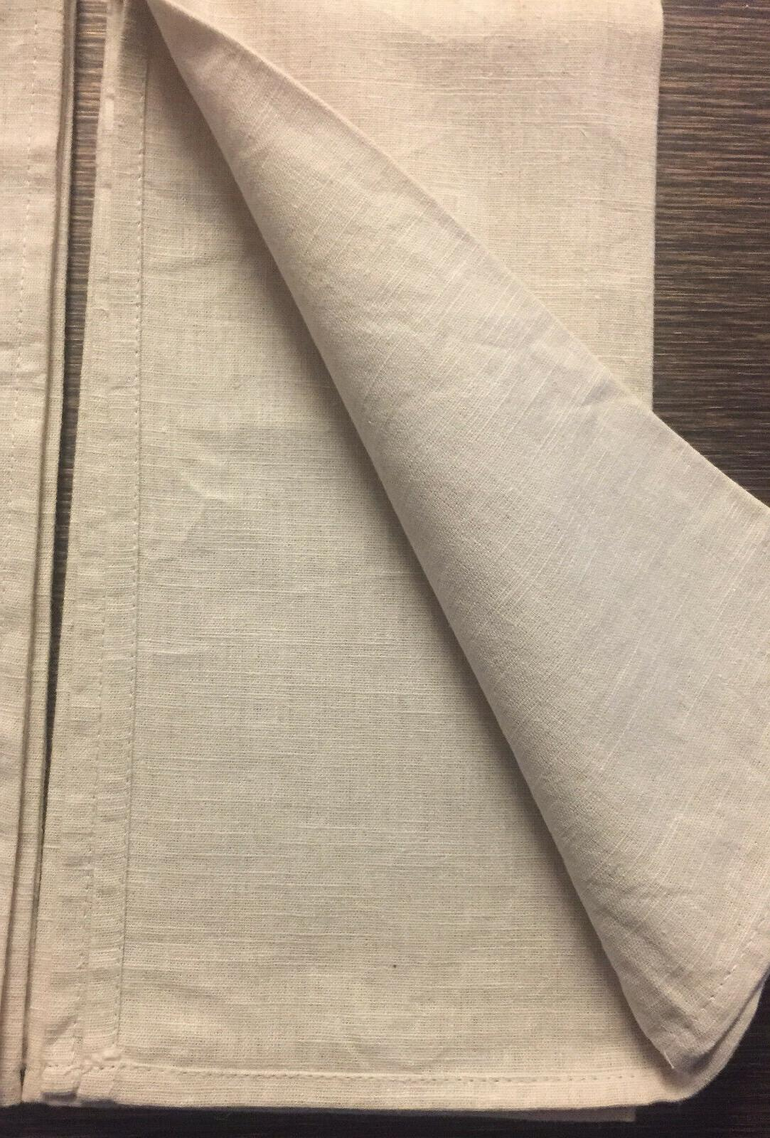 NEW of 2 IKEA Beige Linen Country Kitchen Loops