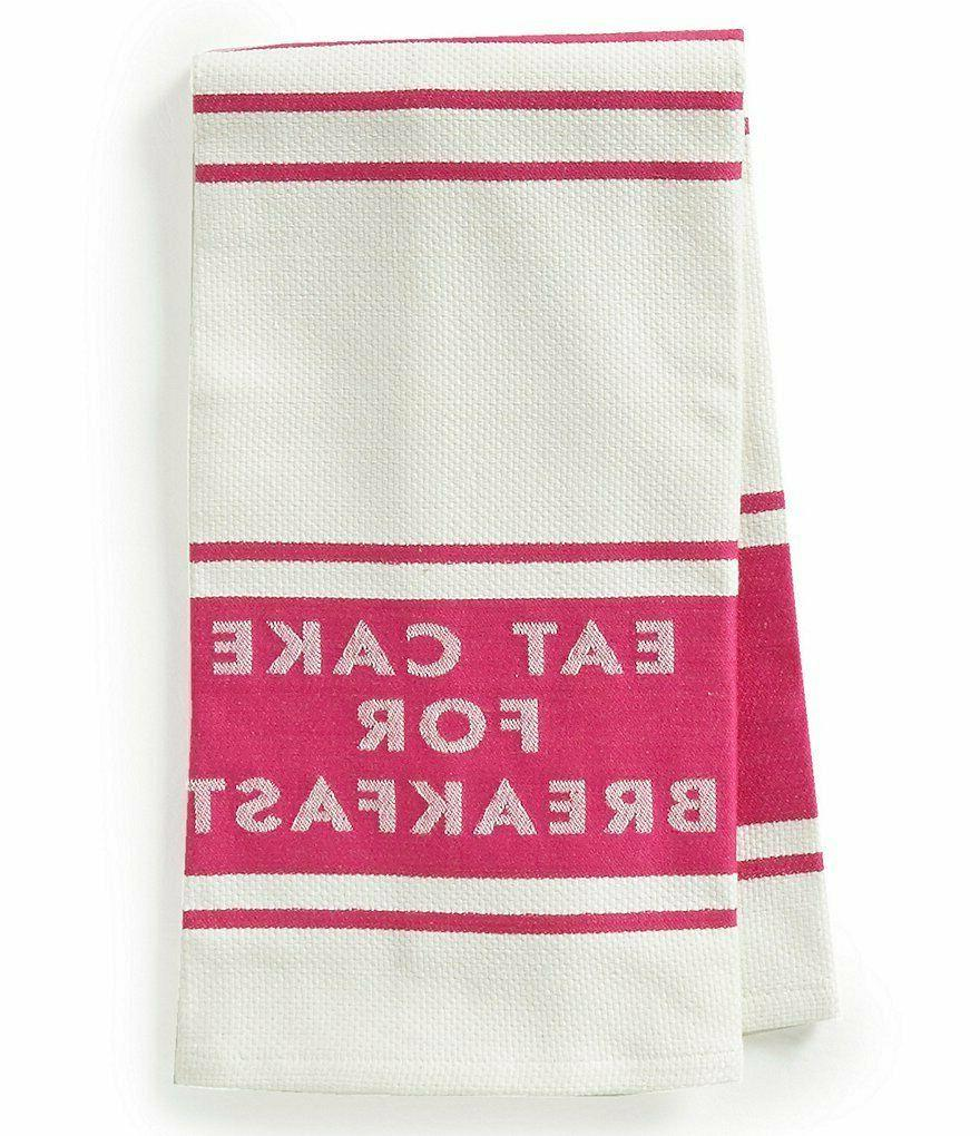 NEW Kate spade kitchen towel Towels All in Good Taste Eat Ca