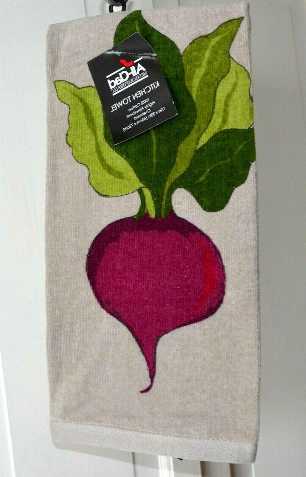 nwt all clad 100 percent cotton beets