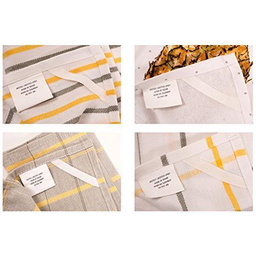 Pantry Pineapple Towel Set 100-Percent 28-inch