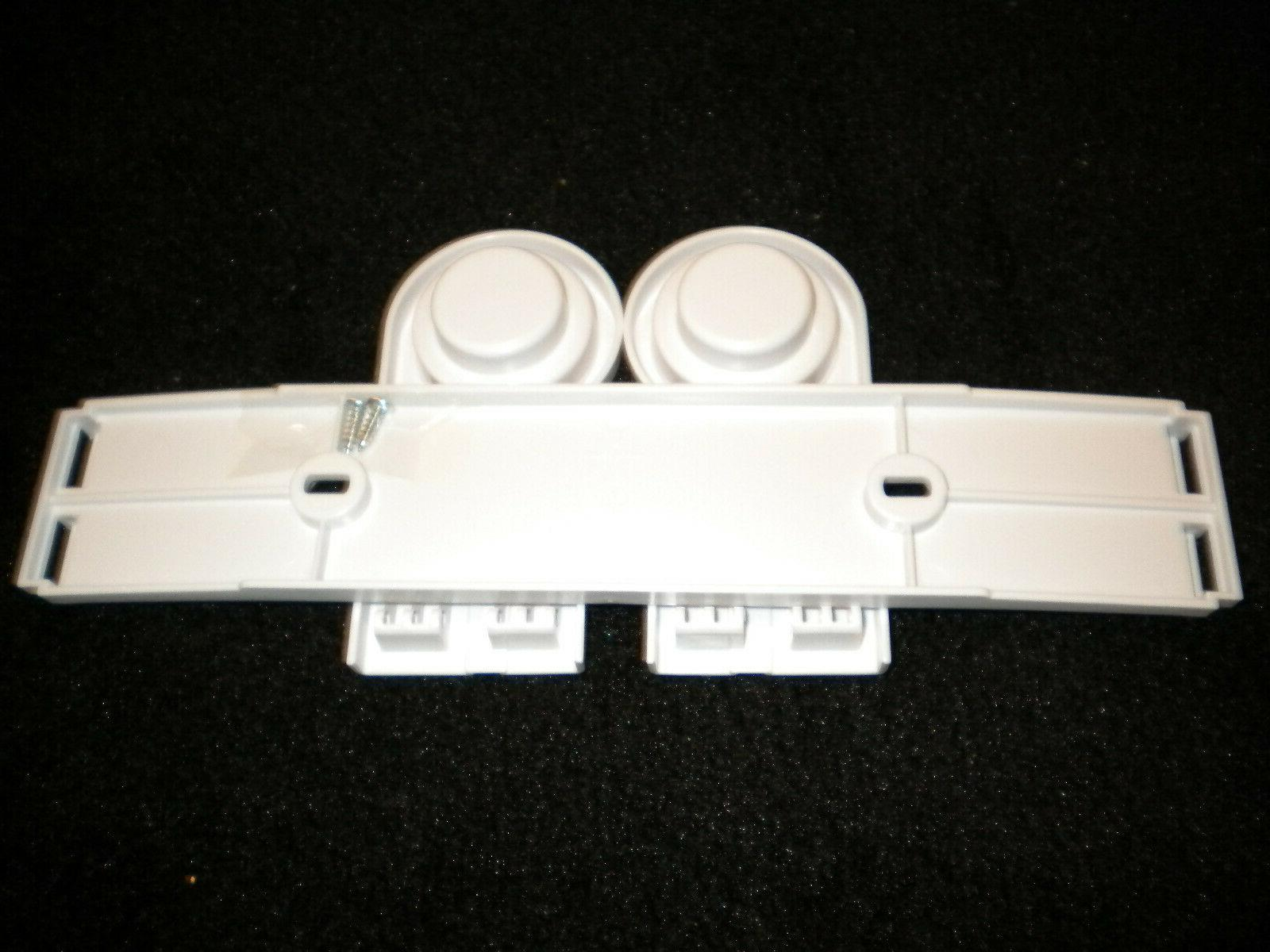 Hinged Plastic Under Cabinet Wall-Mount