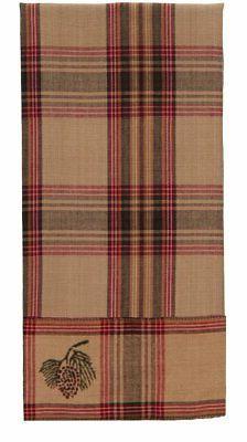 Pinecone Dishtowel - Country Farmhouse Kitchen Dish Towels