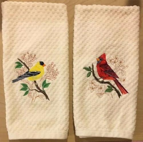 Red & Goldfinch Birds