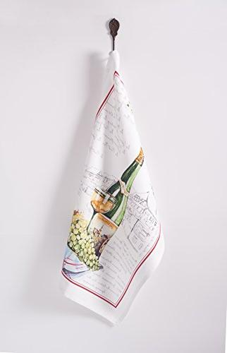 Maison 100% Set 3 Towels Inch by