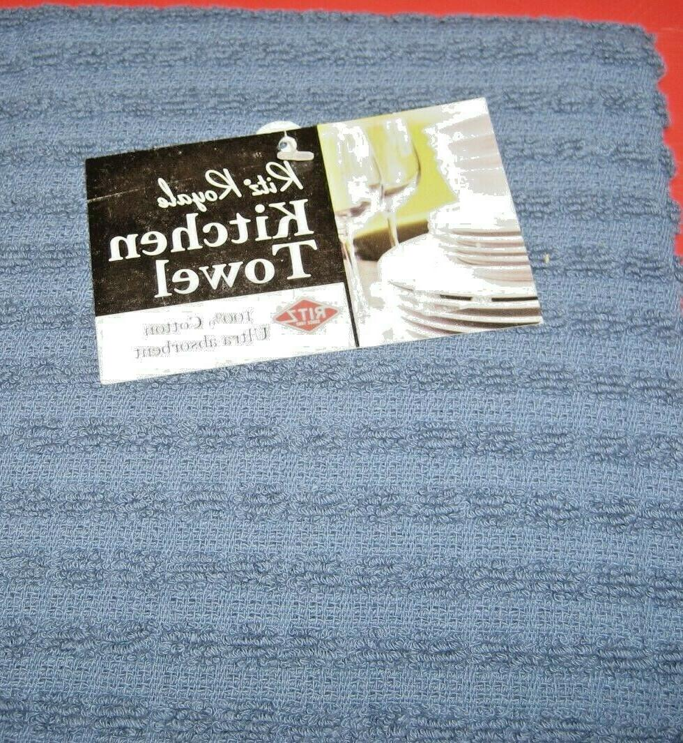 "Ritz x 28"" Blue Kitchen Towel"