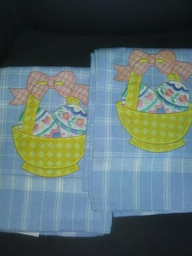 royal terry easter design towels