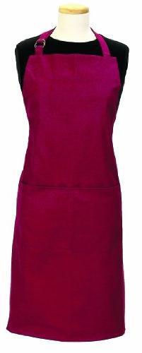 Ritz Royale 100% Cotton Twill Two-Pocket Bib Apron with Adju