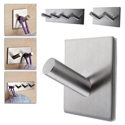 self adhesive hook key rack kitchen towel