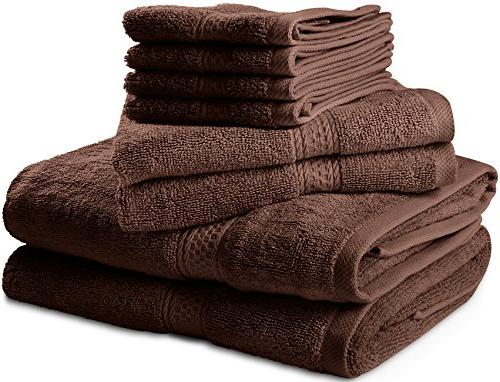 Premium 8 Set 2 Towels, Hand Towels and - Hotel Quality, and Utopia Towels