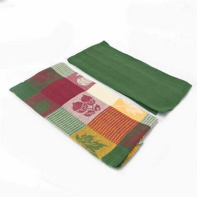 Set Woven Cotton Towels