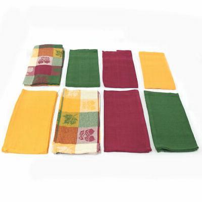Set 15 Woven Kitchen Towels