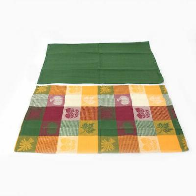 Set 15 Harvest Woven Kitchen Dish Towels