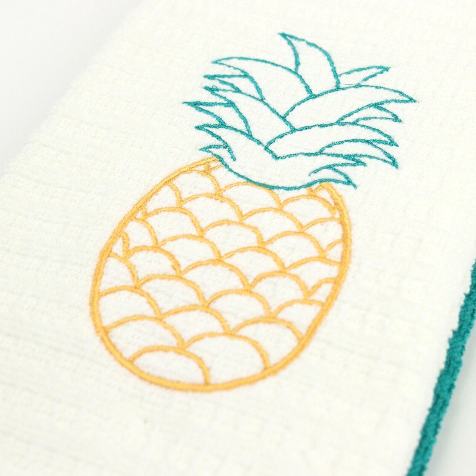 Set Towels Embroidered Design x
