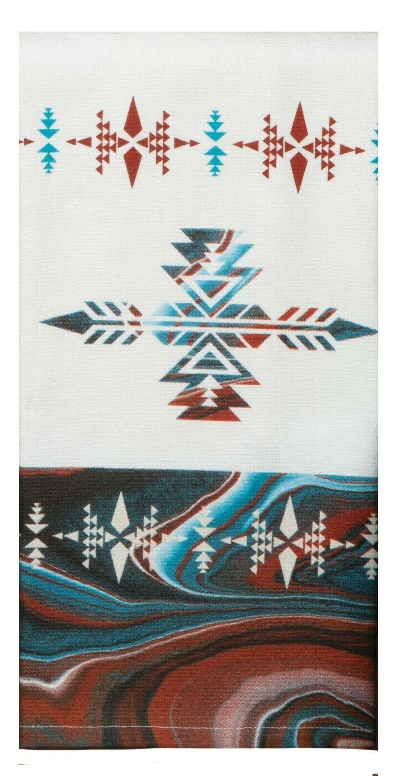 Set VISTAS Kokopelli Towels by Kay Designs
