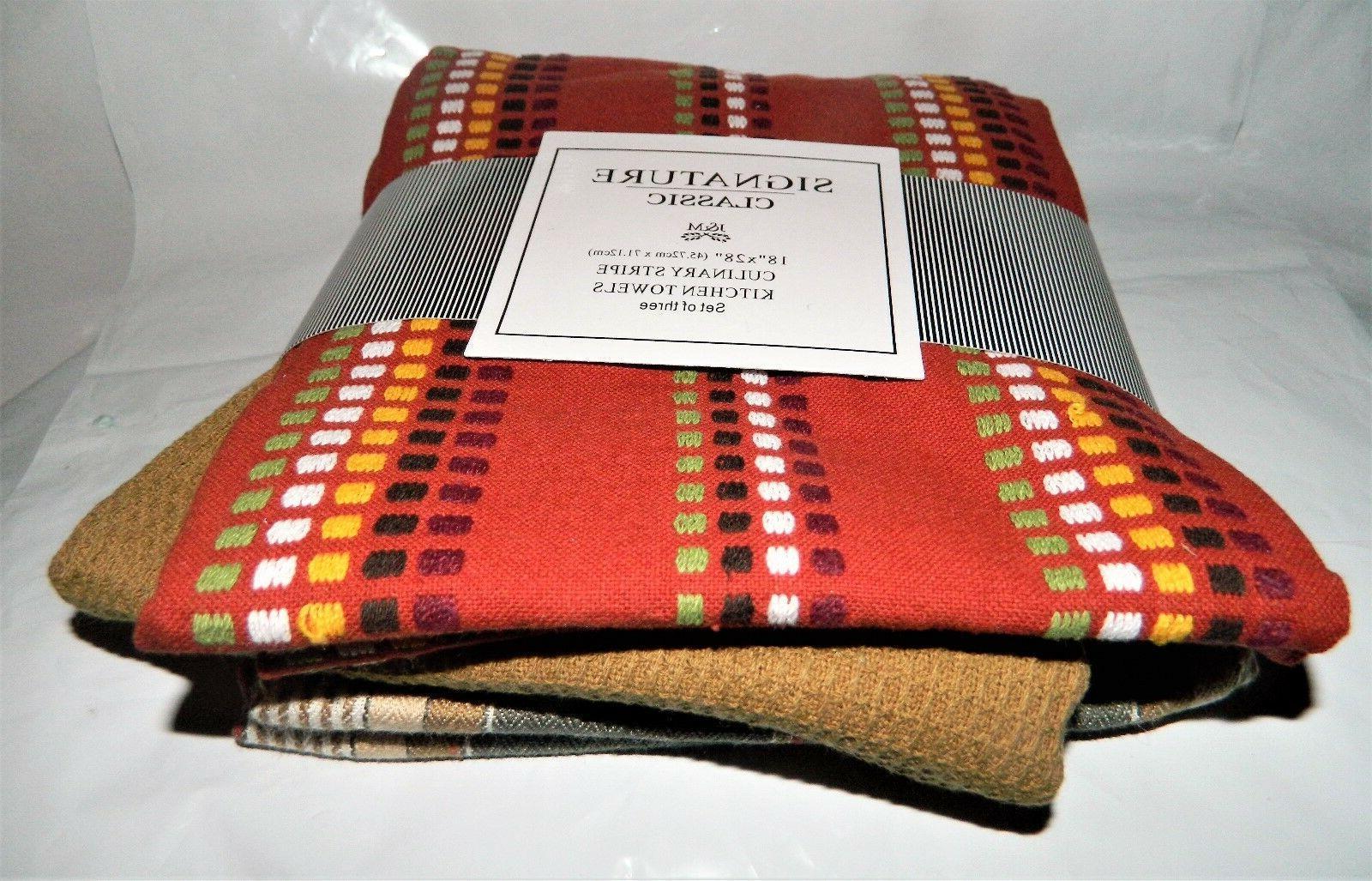 """Set Kitchen Towels Autumn Fall 28"""""""