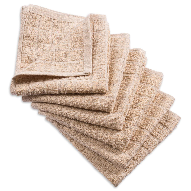 Windowpane Multicolor Cotton Terry Bar Towel 6