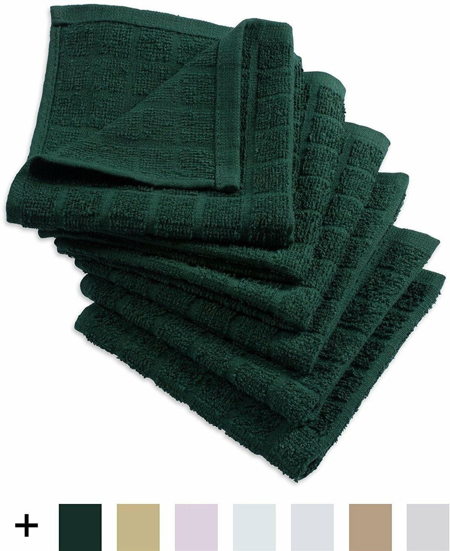 Windowpane Dish Cloths Catering Tea Hand Towels 6