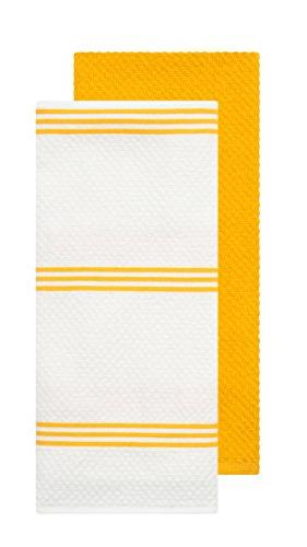 Sticky Silicone Oven Pot Holder, Cotton Terry Dish Towel Yellow, Piece