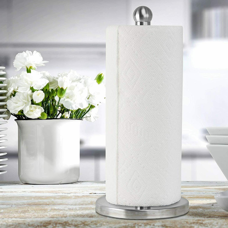 Stainless Steel Kitchen Towel Holder Dispenser Base