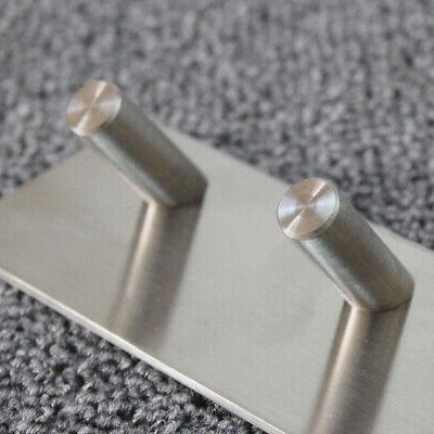 Stainless Hook Key Rack Kitchen Towel Hanger