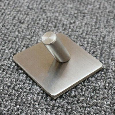 Stainless Steel Hook Key Rack Towel Hanger