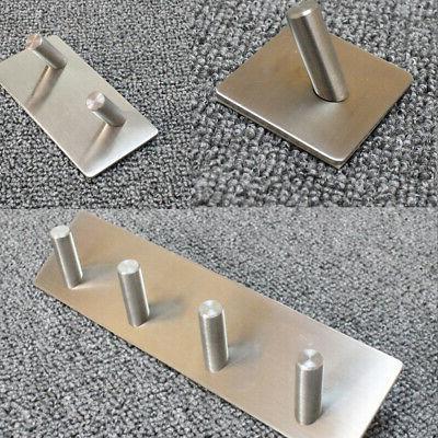 stainless steel self adhesive hook key rack
