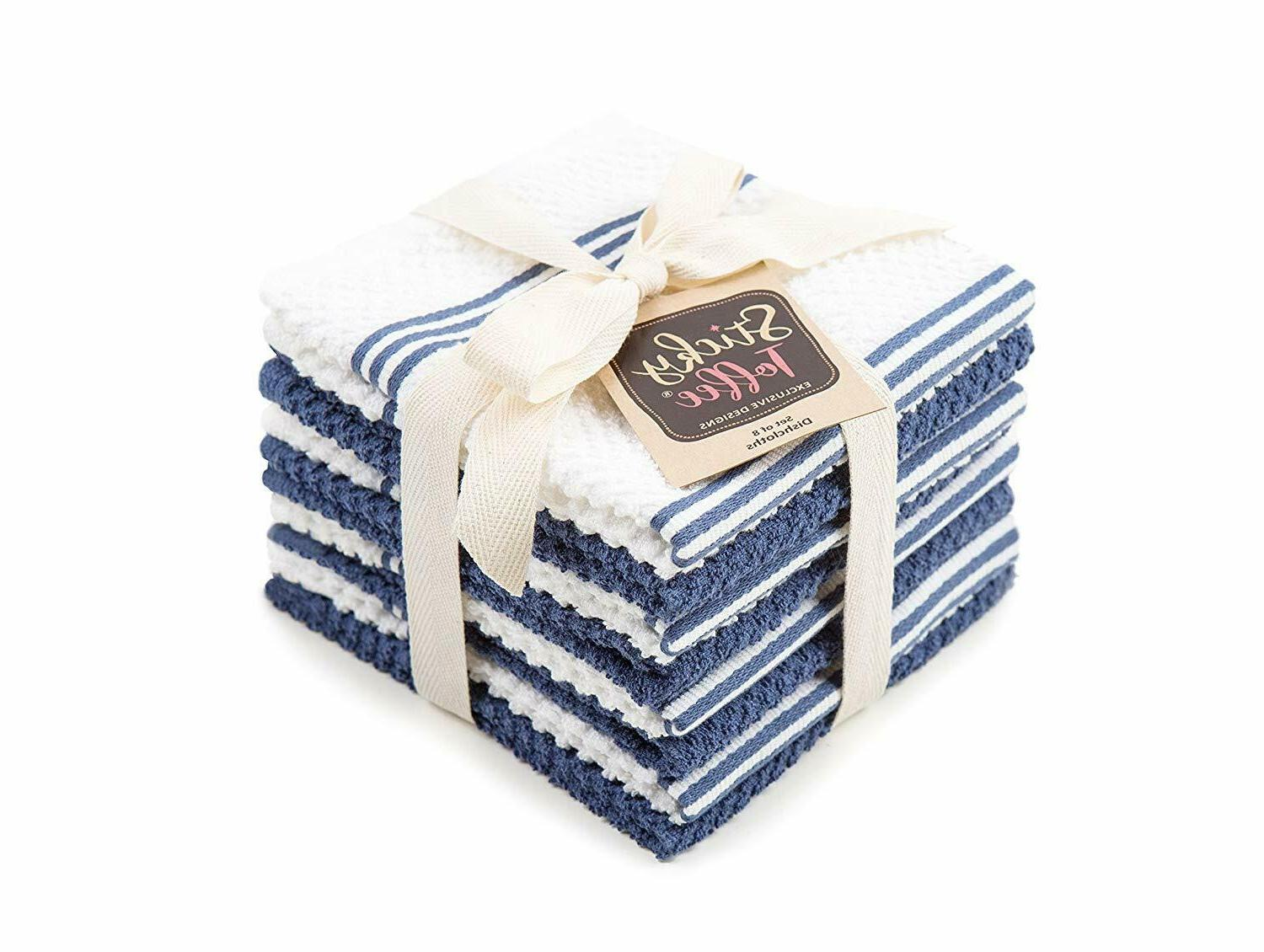 Sticky Terry Kitchen Dishcloth, Pack, 12