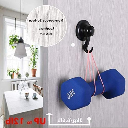 Qmagic Vacuum Cup Hooks Shower & Hanger Towel, Robe, - Cup